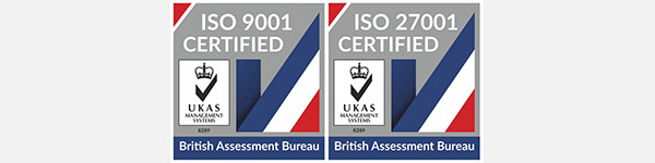 2019. ACHIEVED ISO9001 AND ISO27001 QUALITY ASSESSMENT STANDARDS