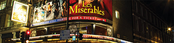 2009. WON A CONTRACT TO SUPPORT A MAJOR WEST END TOURIST ATTRACTION